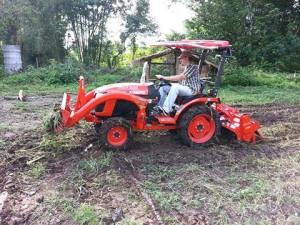 Denny's tractor
