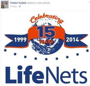 Fifteen years logo